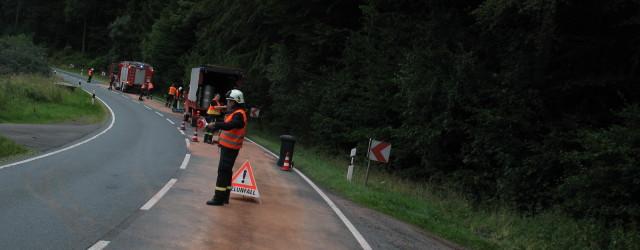 Am späten Nachmittag wurden wir zu einer längeren Ölspur auf der B 251 Richtung Freienhagen alarmiert. An der Einsatzstelle stellte [...]