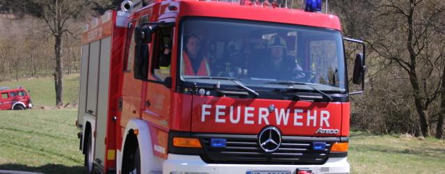 Heute Mittag wurden wir zu einem Waldbrand an der K 17 in Nähe der B 251 zur Unterstützung der Feuerwehren [...]