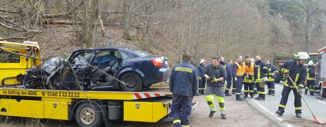 Am Dienstag Nachmittag wurden wir zur Unterstützung der Vöhler Feuerwehren zu einem Verkehrsunfall mit eingeklemmter Person zwischen Vöhl und Herzhausen [...]